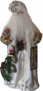collectible Christmas Santa figures