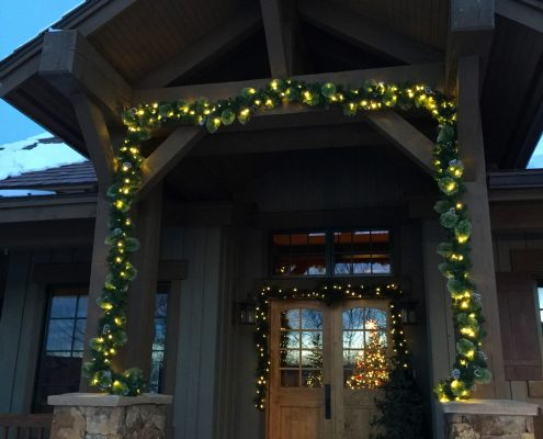 lighted garland